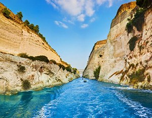 ANCIENT CORINTH CANAL